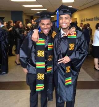 Court and Eddie Graduates of UT